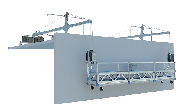 SPS + XSClimbers + outriggers Suspended Platforms Systems